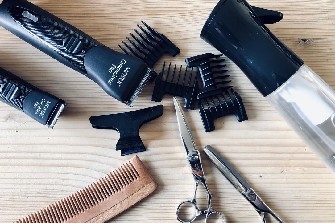 gereedschap haren knippen